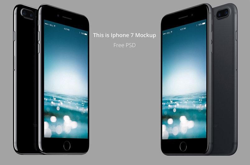 60 Best Apple Iphone 7 Psd Mockup Templates Decolore Net