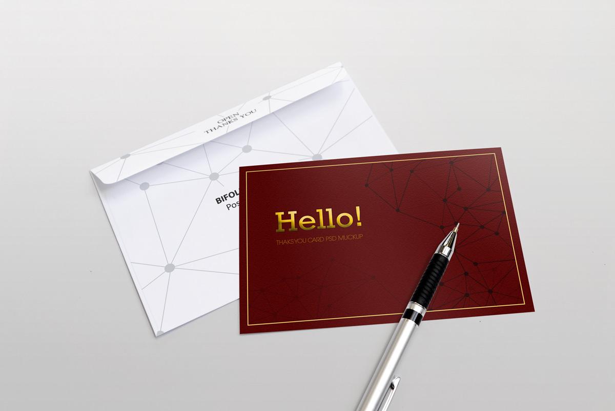 50 Invitation Greeting Card Mockup Designs Decolore Net