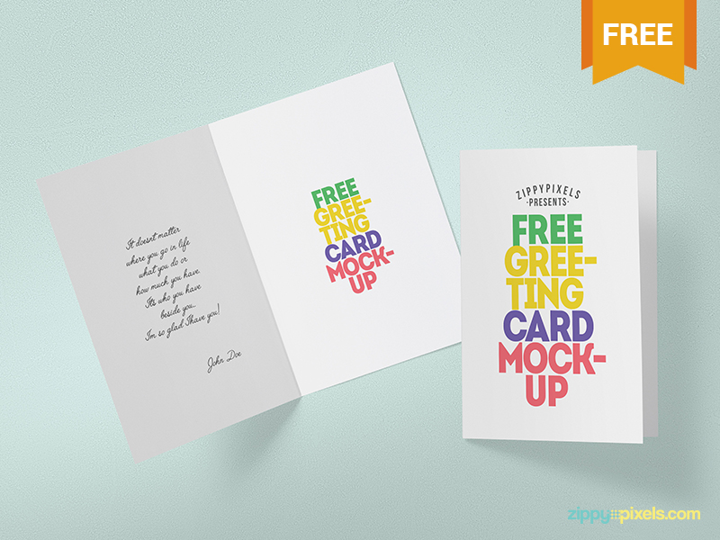 50 Invitation Greeting Card Mockup Designs Decolore Net