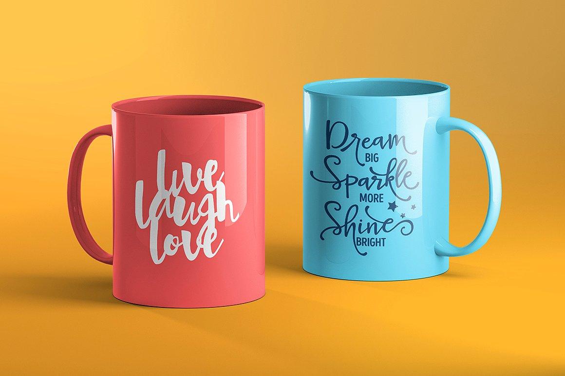 60+ Realistic Coffee Cup / Mug PSD Mockup Templates ...