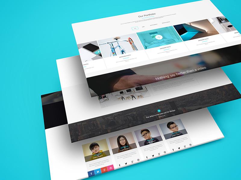 30 perspective website design psd mockups decolore net