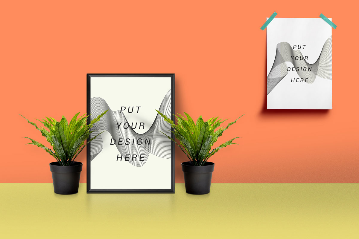 free mockup templates - 60 poster mockup templates for showcasing designs
