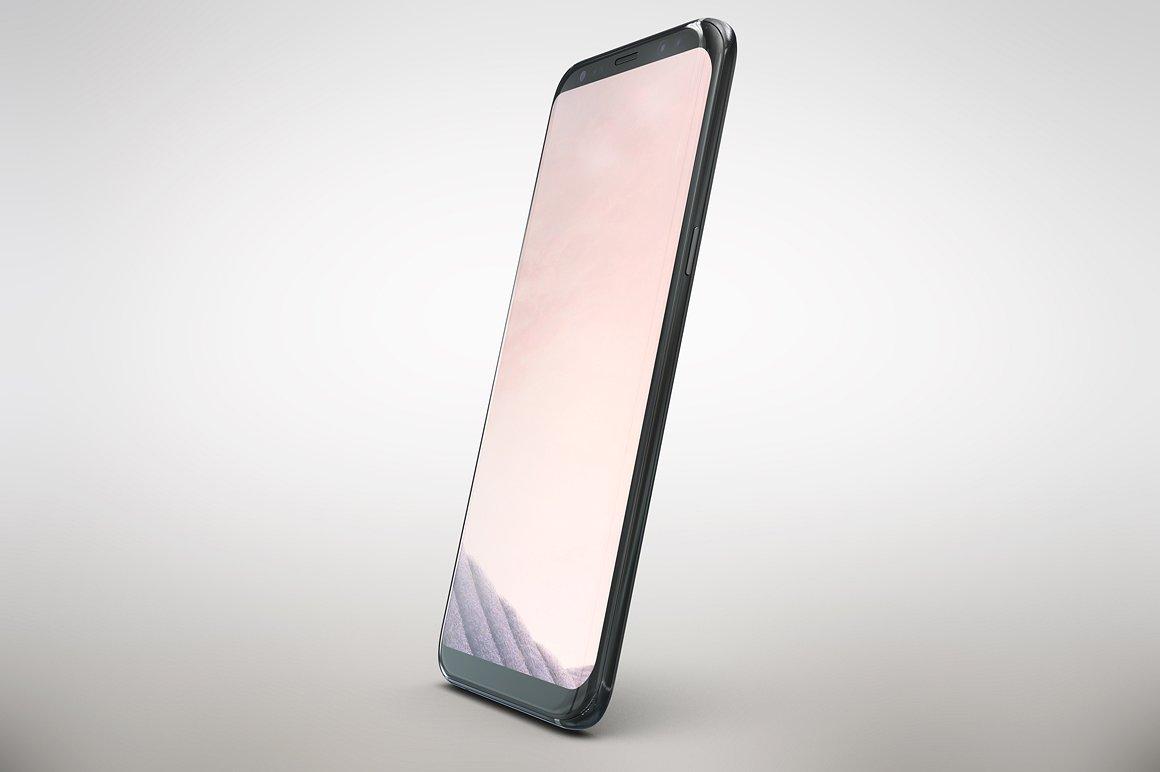 Samsung Galaxy S8 APP Mockup