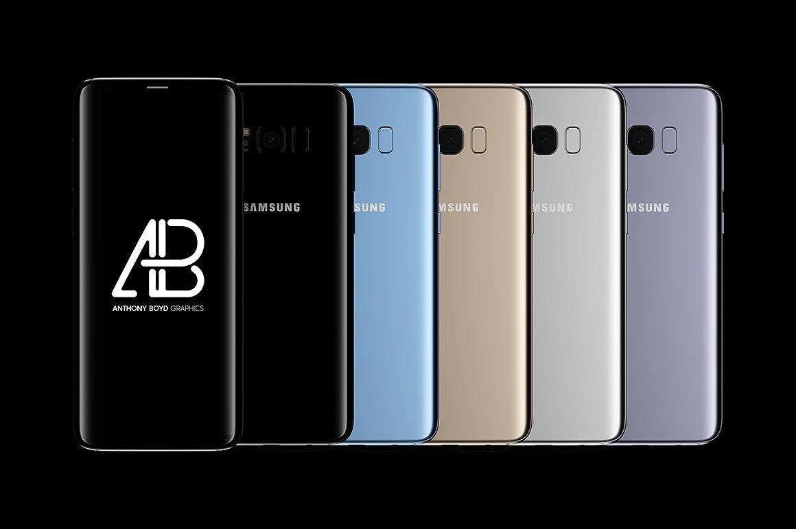 Samsung Galaxy S8 Plus Mockup