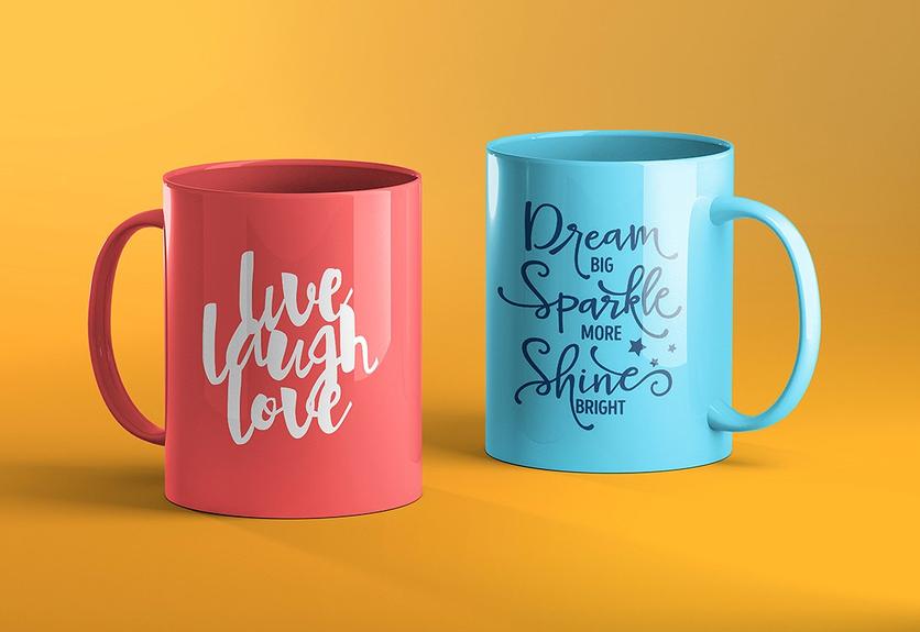 60  realistic coffee cup    mug psd mockup templates
