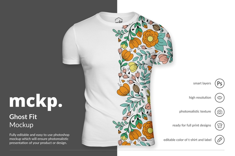 45+ Best T-shirt PSD Mockup Templates | Decolore.Net