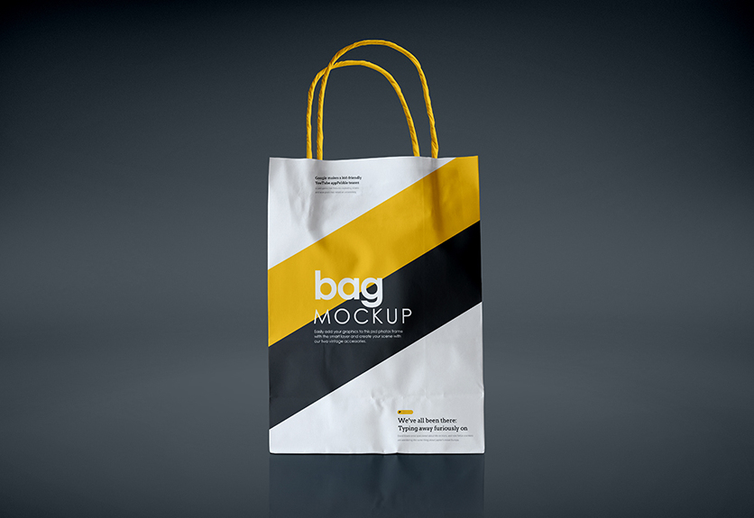 40  best shopping bag psd mockup templates