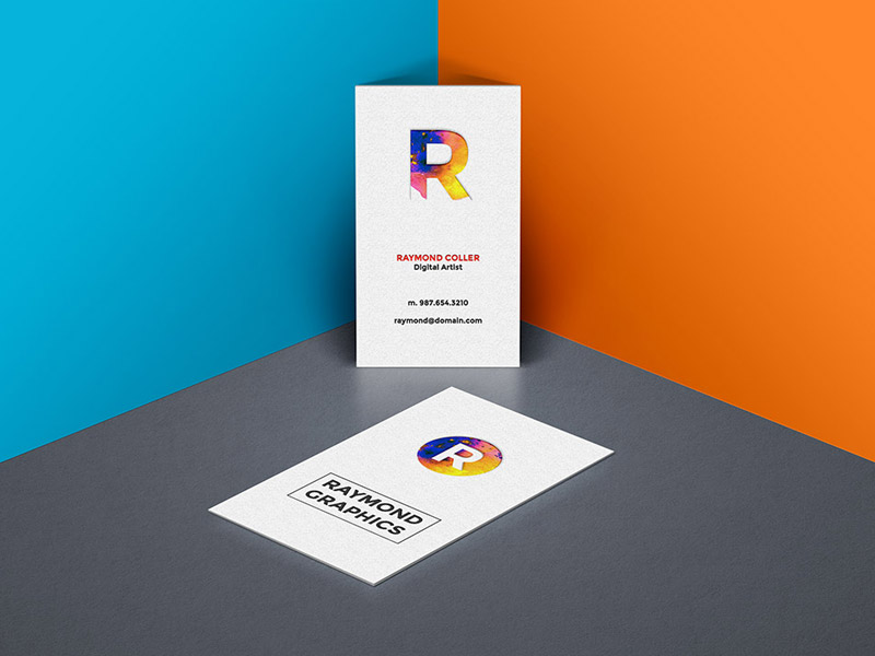 55 business card psd mockup templates decolore business card mockup psd template reheart Gallery