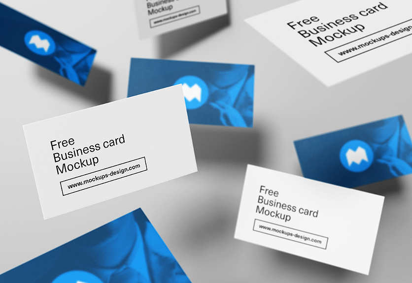 55 business card psd mockup templates decolore pin it reheart Images