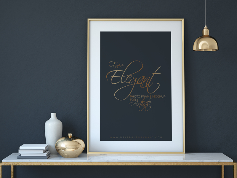 50+ Realistic Frame Mockup Templates | Decolore.Net