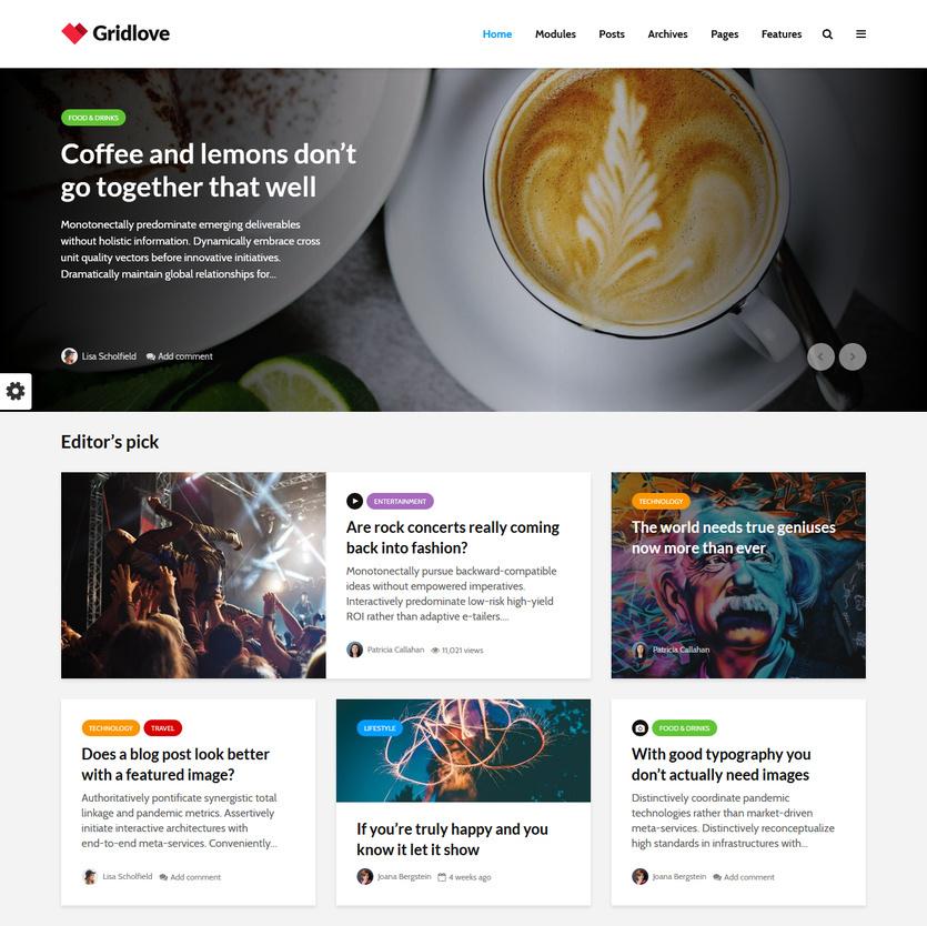 30 best news magazine style wordpress themes 2018