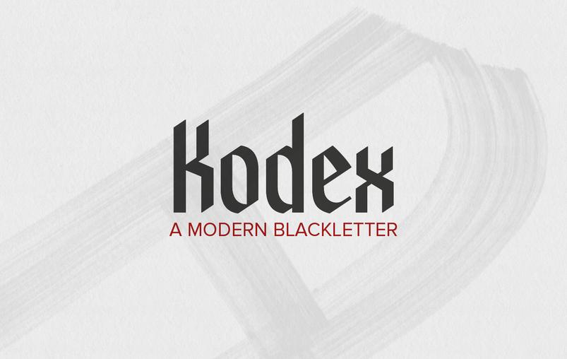 40 Beautiful Blackletter Fonts For Designers