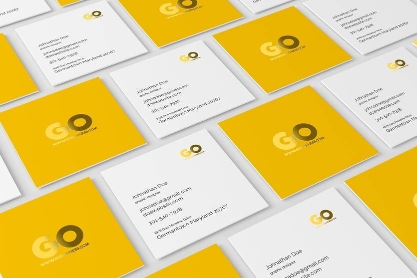 55 business card psd mockup templates decolore square business card mockup colourmoves Images