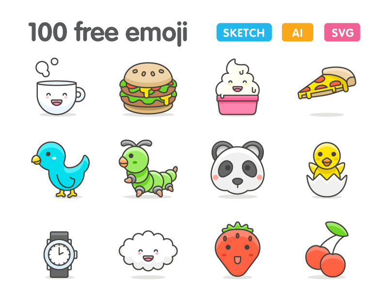 20+ Best Emoji Icons to Show Emotions in Your Design Project ...