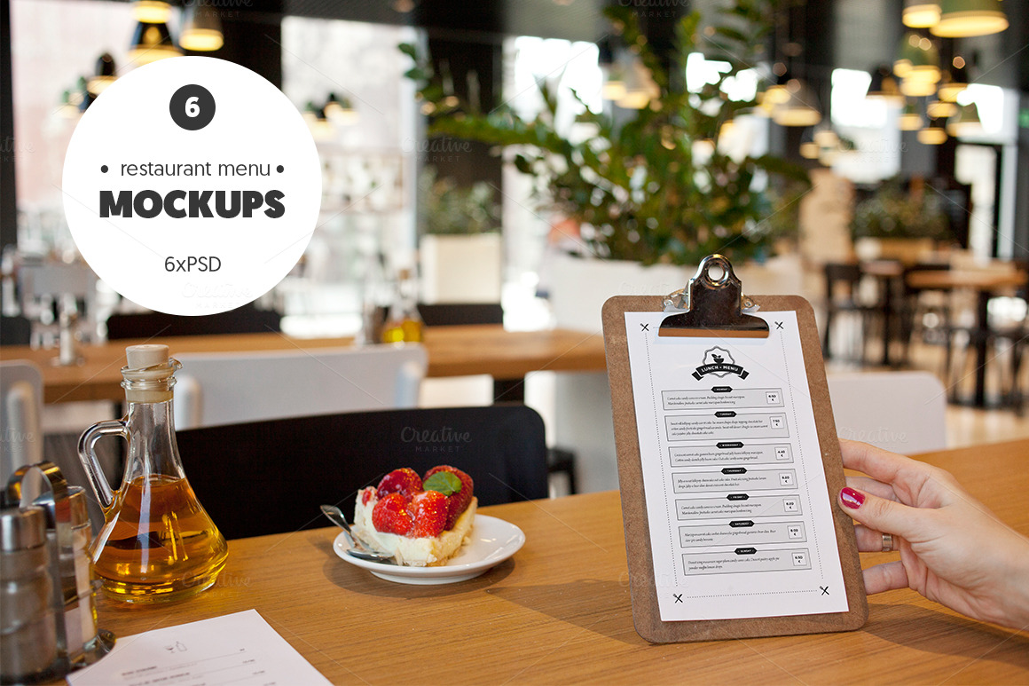 8+ Elegant Restaurant Menu PSD Mockup Templates  Decolore.Net