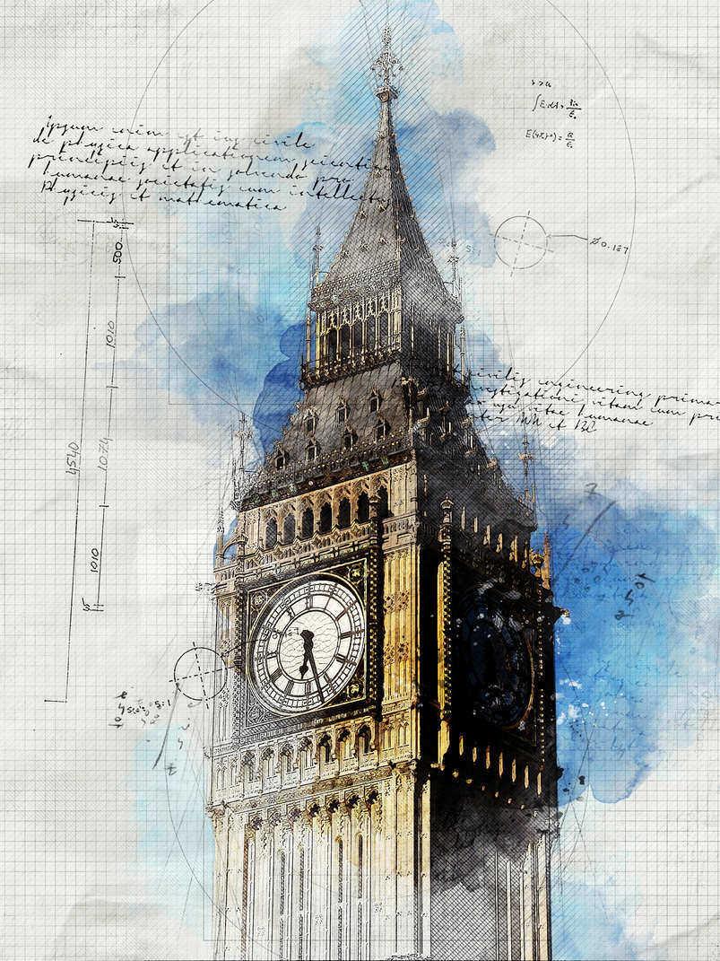 19 Artistic Watercolor U0026 Sketch Painting Effect Photoshop Actions | Decolore.Net