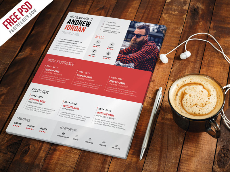 50 best clean useful cv resume templates