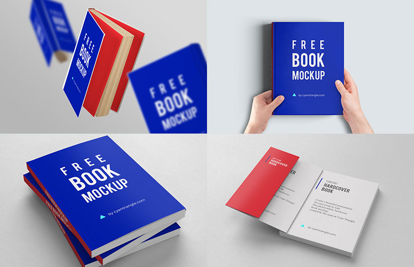 40 Best Book Cover Mockup Templates Decolore Net