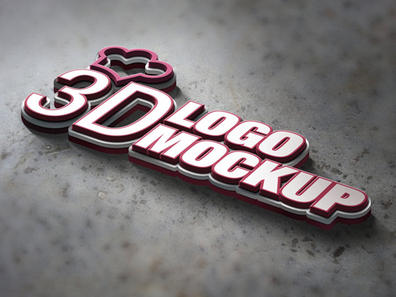 50+ High-Quality Realistic Logo Mockups | Decolore Net