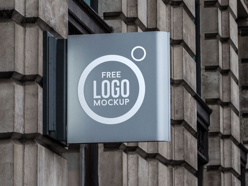 50+ high-quality realistic logo mockups | decolore, Powerpoint templates
