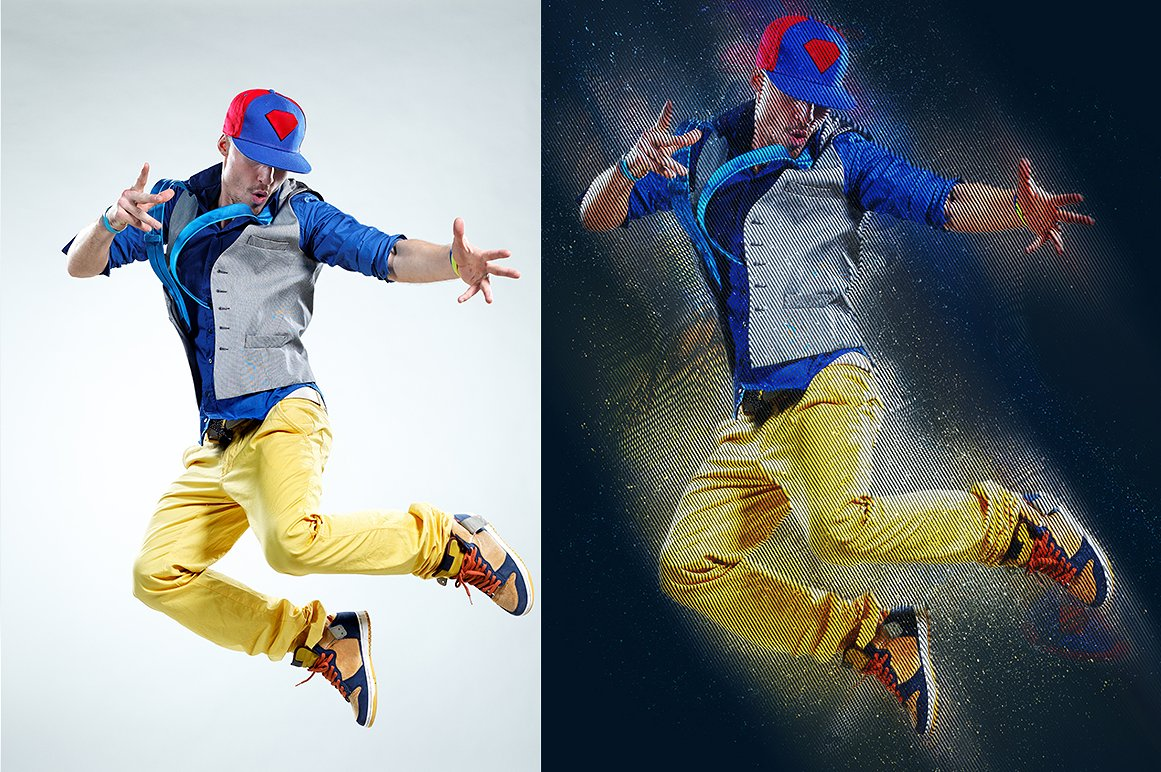 30 The Most Surprising & Unforgettable Photoshop Actions