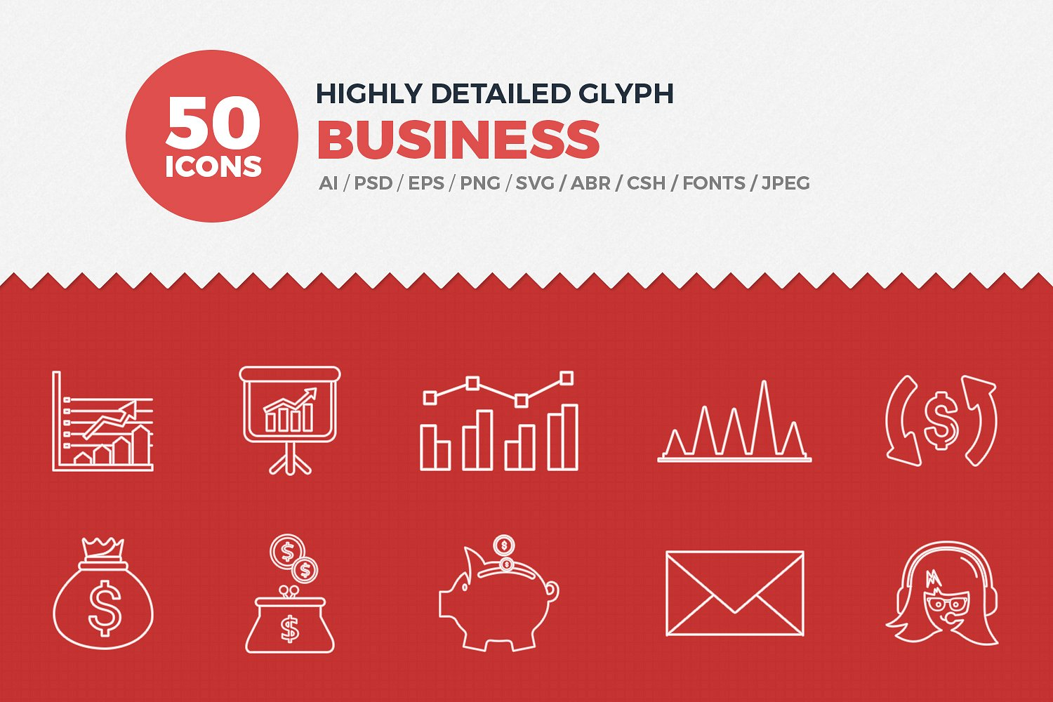 35+ Sets of Business & Office Icons to Awaken Your Designs