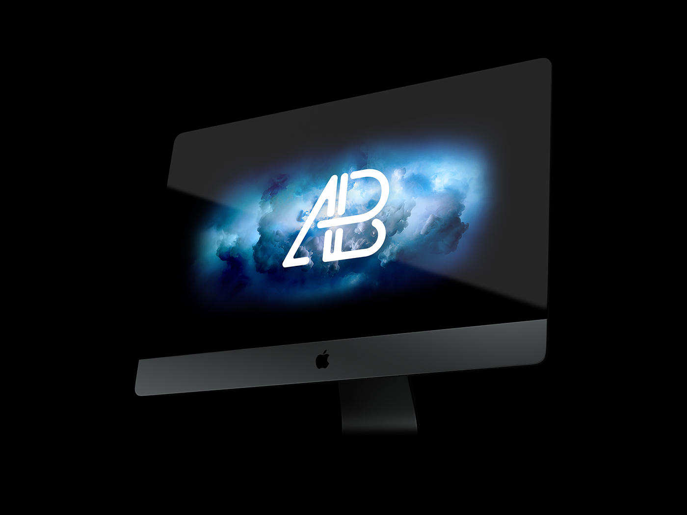 20+ Apple iMac PRO PSD Mockup Templates   Decolore.Net