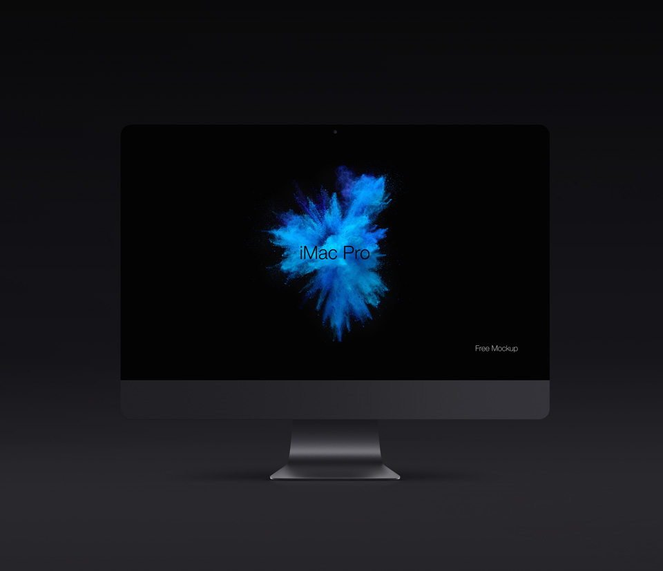 20+ Apple iMac PRO PSD Mockup Templates | Decolore.Net