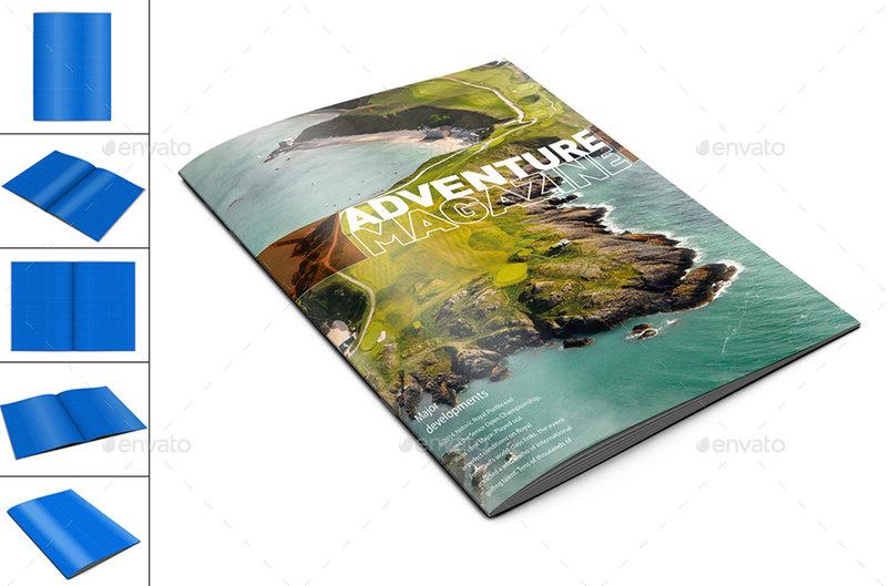45+ Best Brochure / Catalog PSD Mockups | Decolore Net