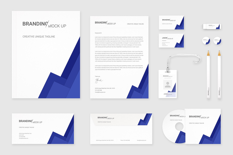 35 Impressive Branding Identity & Stationery PSD Mockups