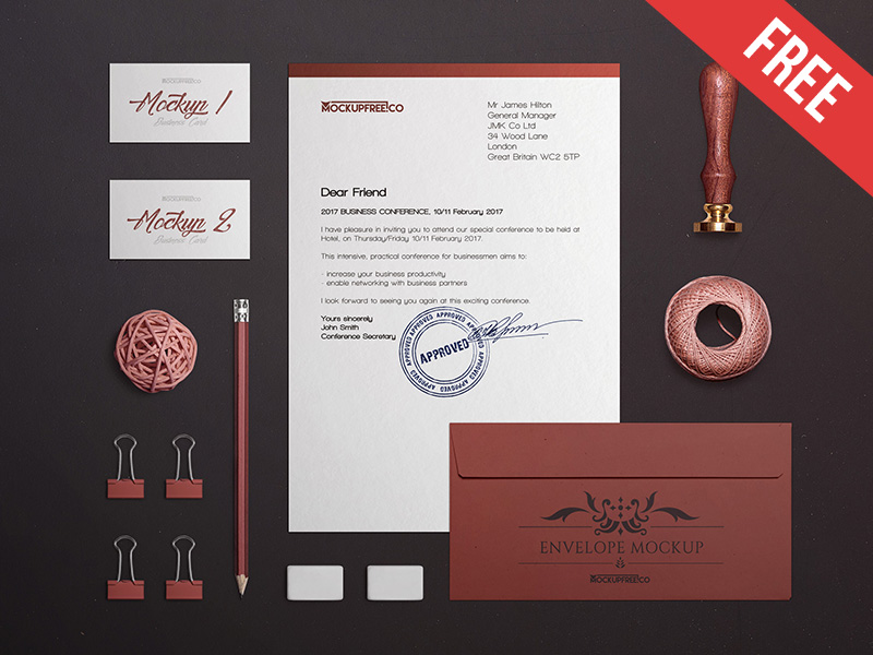 35 impressive branding identity stationery psd mockups decolore net