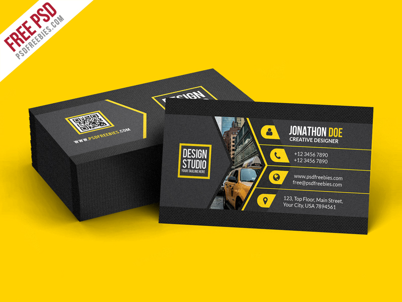 45 Best Business Card Design Psd Templates Decolore