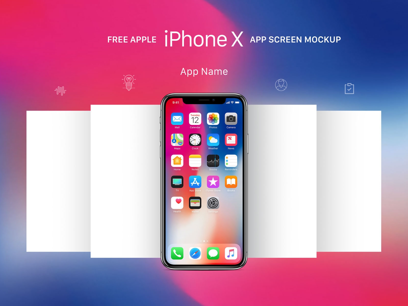 60 Apple Iphone X Mockup Templates Decolore