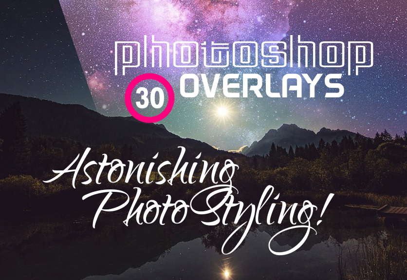 30+ Cool Photoshop Overlays to Make Astonishing Photo Style