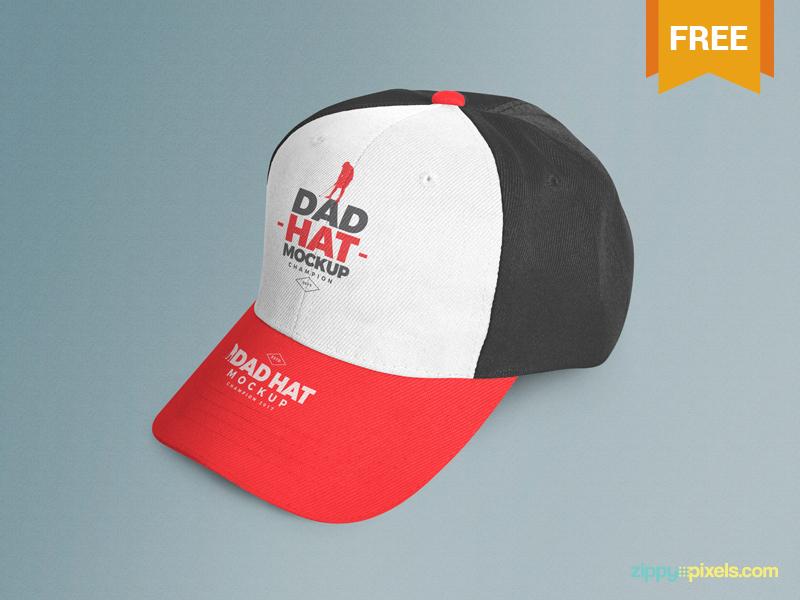 40+ Cap Mockups with Editable PSD Templates   Decolore Net