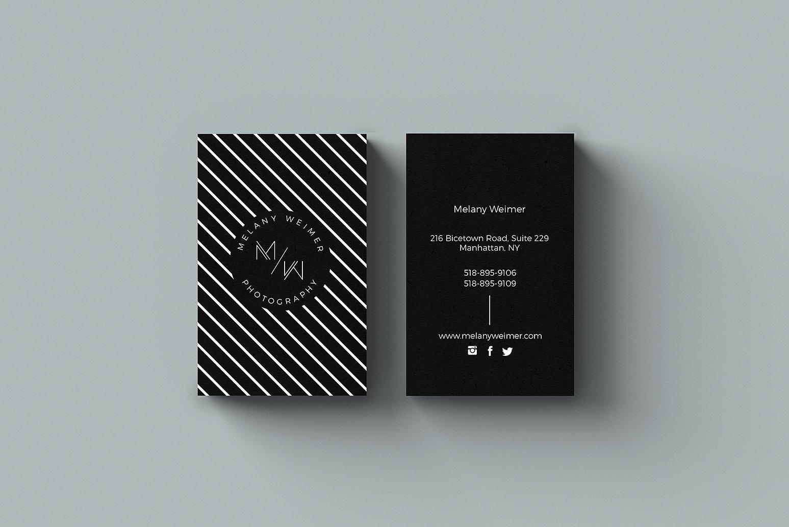 40+ Business Card Templates for Photographers | Decolore.Net
