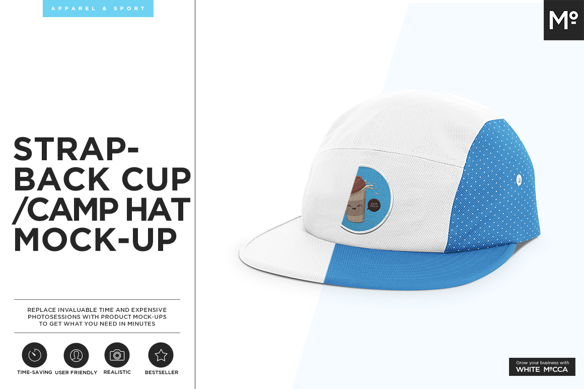 40+ Cap Mockups with Editable PSD Templates | Decolore Net