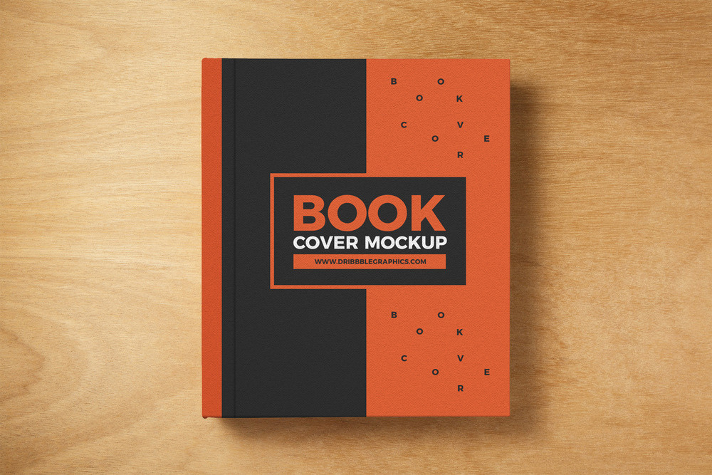 Cook Book Cover Up : Best book cover mockup templates decolore