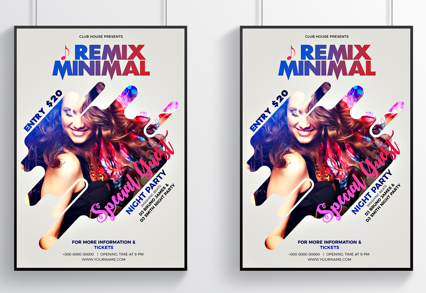 photoshop poster templates