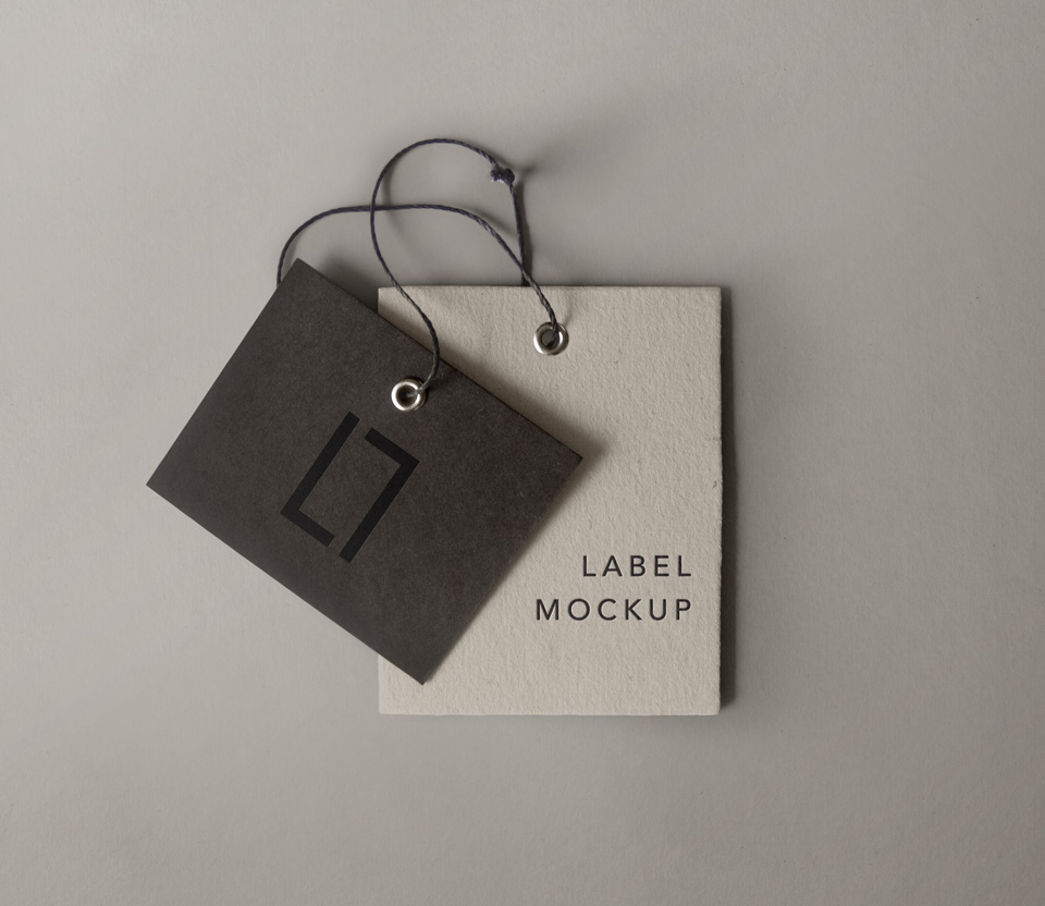 40 photorealistic label tag psd mockups decolore psd label brand mockup vol 6 reheart Image collections
