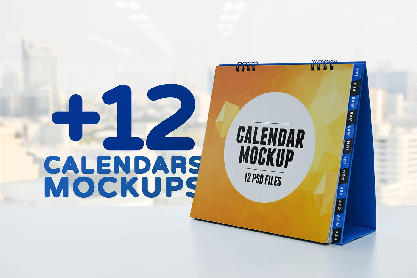 25+ Attractive Wall and Desk Calendar Mockups | Decolore Net