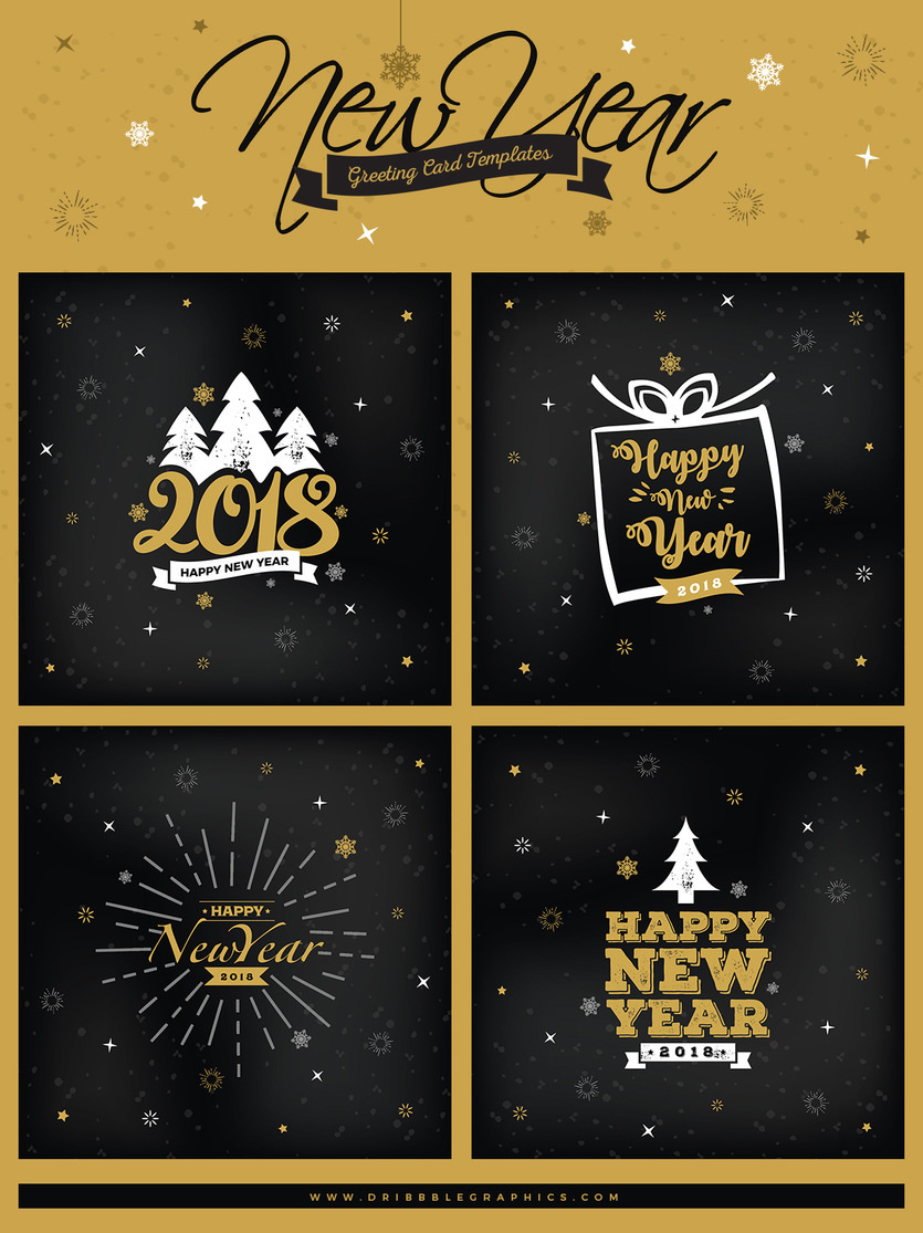 50 invitation greeting card mockup designs decolore 4 free new year greeting card templates kristyandbryce Images