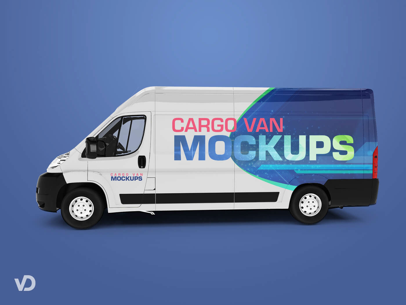 vehicle mockup psd + van mockup templates for branding your business
