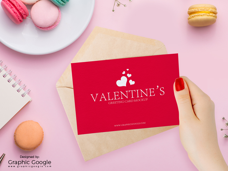 50 invitation greeting card mockup designs decolore free valentines greeting card in girl hand mockup m4hsunfo