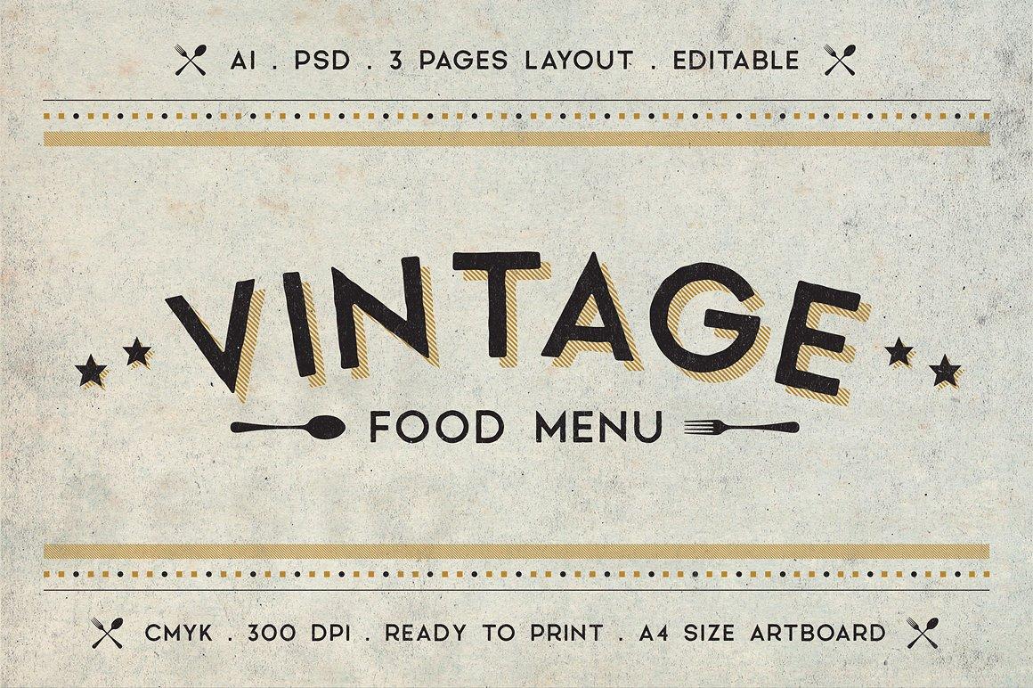 40 Restaurant Food Menu Design Psd Templates Decolore Net