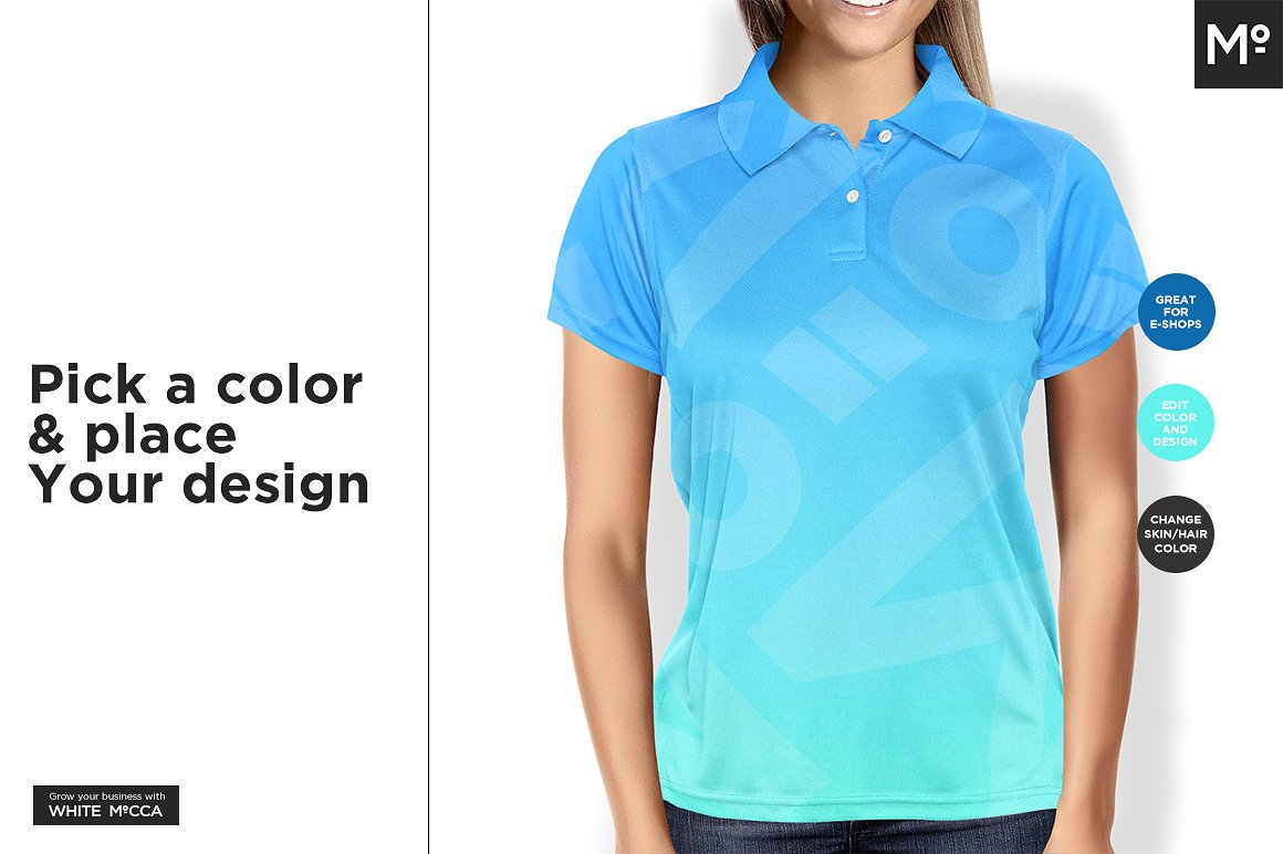 35 Polo Shirt Ultra Realistic Psd Mockups Decolore