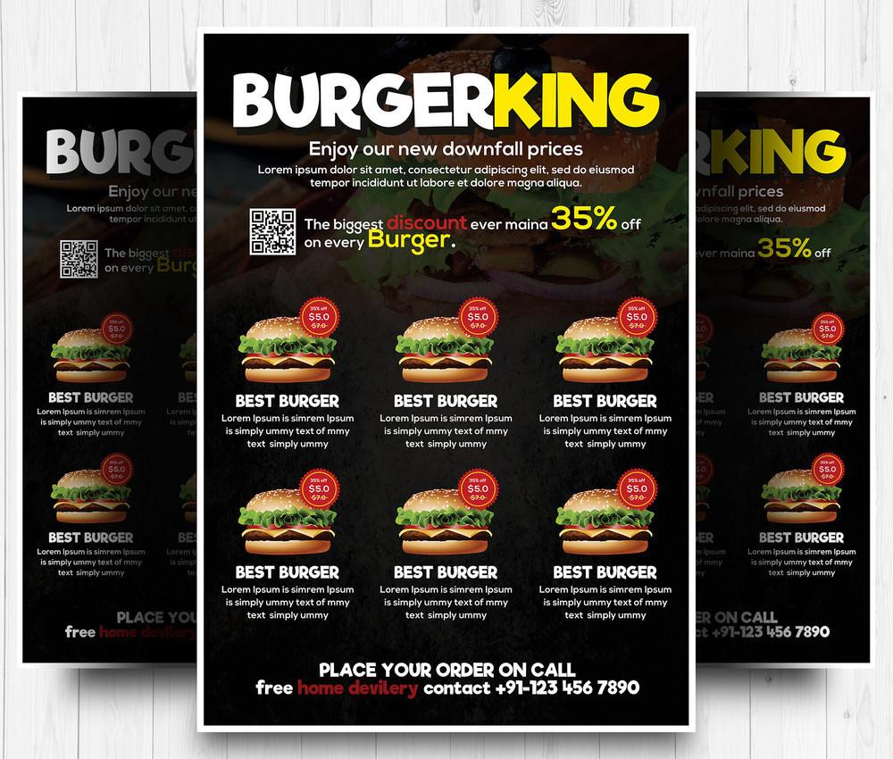 Restaurant Food Menu Design PSD Templates DecoloreNet - Menu brochure template free