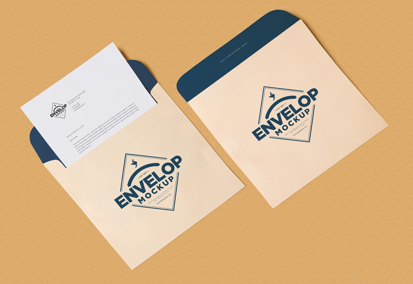 25 best envelope psd mockup templates decolore net