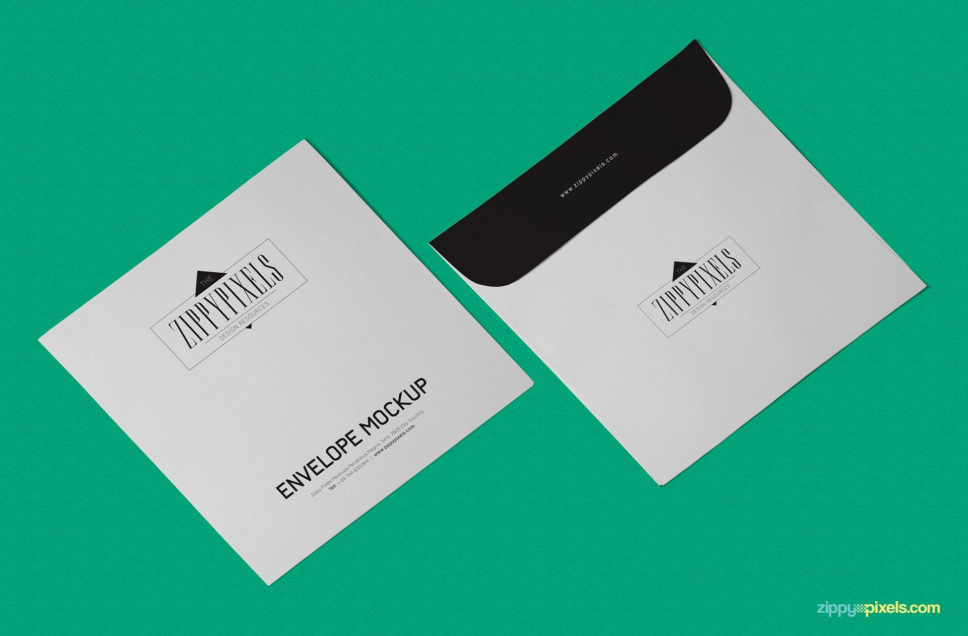 25 best envelope psd mockup templates decolorenet for Envelope psd