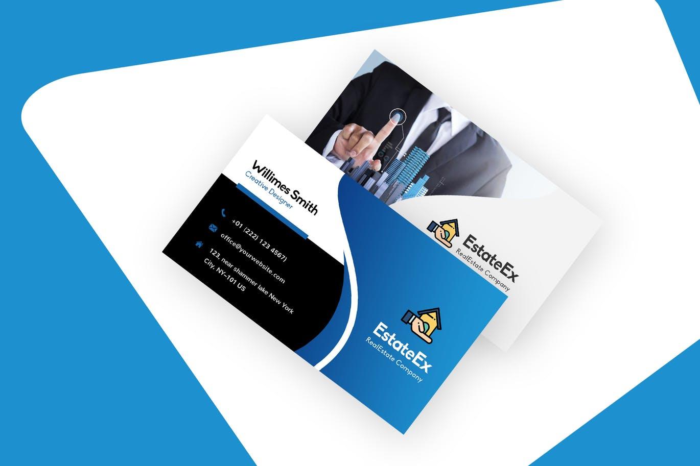 30+ Modern Real Estate Business Cards PSD | Decolore.Net